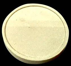 Gold Tool Round Borex Plate