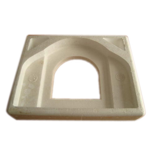 Cream Thermocol Rectangle Mold