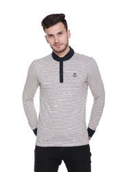 Henley Neck T-Shirt for Men