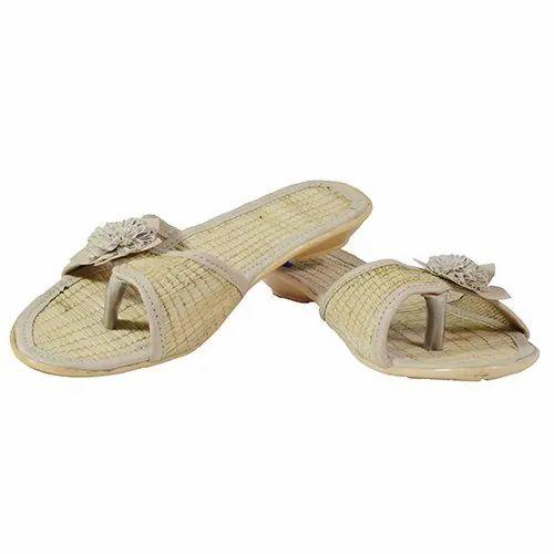 Party Wear Ladies Flat Sandal