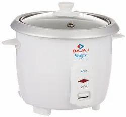 Bajaj Majesty Rcx1 0.4l 200wt Mini Multifunction Cooker, White