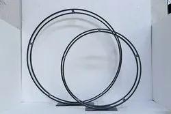 Circle. black Iron Table Decoration