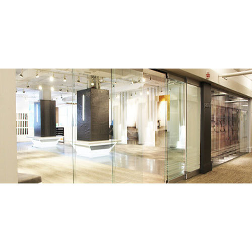 Frameless Glass Door Glass Door Sri Santoshi Enterprises