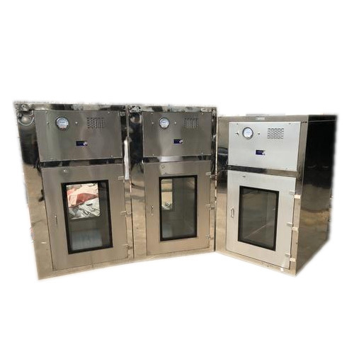 Shreenath Ss Flame Proof Dynamic Pass Box, For Pharmaceutical Industry, Size: 600x600x600 Mm