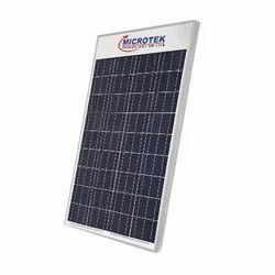 Multi Crystalline Silicon 100 W Microtek Solar Panel, Dimensions: 1010x665x35 Mm