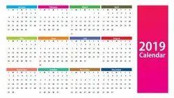 Paper Printed Calendars
