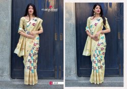 Manjuba Mahakanta Silk Series 1601-1610 Stylish Party Wear Fancy Saree