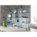 10-50 Square Feet Transparent Toughened Shelf Glass, Shape: Flat