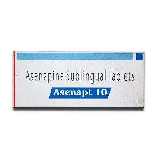 Asenapt Tablets Asenapine 10mg