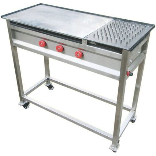 Recon Stainless Steel Chapati Hot Plate With Puffer