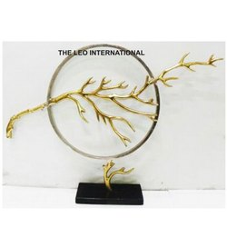 Decorative Golden Sculpture