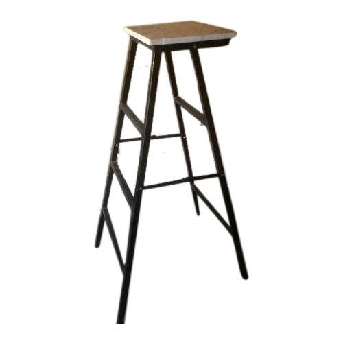 A Plus Furniture Black Aluminium Ladder, Iarn Tebal, 3 Step
