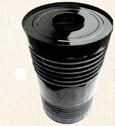 Black asphalt Bitumen Drum, Capacity: 200-250 litres