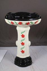Ceramic White Big Sterling Wash Basin, For Home