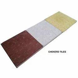 Sarvottam cement Checkered Tiles, Thickness: 25mm, Size: Medium