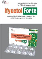 Myo-Inositol 1000mg /Vit D3 1000 I.U Melatonin 1.5mg L-Methylfolate 500mcg Omega 3 Fatty acid EPA