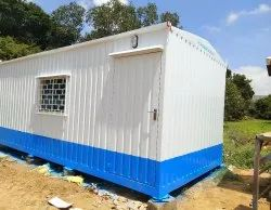 Portable Office Cabin With Attached Toilet