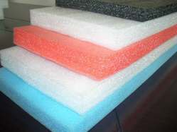 White and Pink EPE Foam Sheets