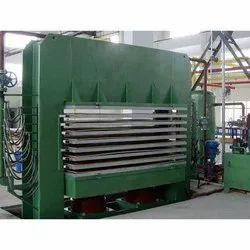 25 Hp Semi-automatic Plywood Hot Press