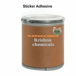 Krishna Chemicals Sticker Adhesive, Can, 20 Kg