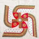 Acrylic Swastik Rangoli