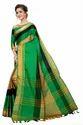 Akshita Cotton Silk Saree With Zari Border