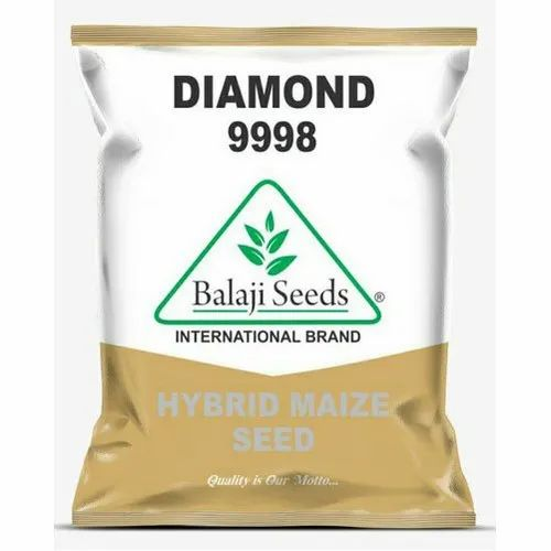 Balaji Seeds Diamond 9998 Hybrid Maize Seeds, Packaging Size: 4 Kg, Packaging Type: Plastic Bag