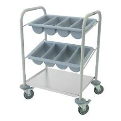 Mild Steel Cutlery Trolley