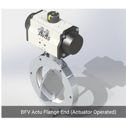 BFV Actu Flange End - Acuator Operated