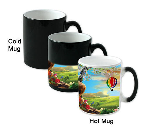 photo about Printable Mugs Wholesale named Printing Mugs Cups - Magic Mug (Blank for Sublimation
