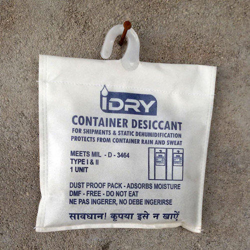 White Container Desiccant