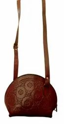 Handmade Leather women Sling Bag