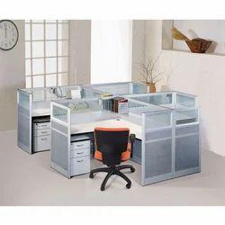Aluminum Office Workstation