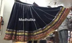 Kalbeliya Special Full Gherdaar Lehenga Chunni Kurti Dance Costume