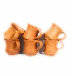 Brown Terracotta Clay Cups