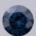 Blue CVD Diamond 1.11ct VVS1 IGI Certified Round Brilliant Cut Lab Grown Stone