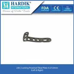 Locking Proximal Tibia Plate 4.5mm/5.0mm