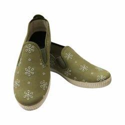 Scentra Female Designer Canvas Shoes