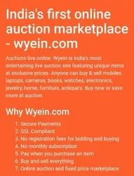 96c148fcf Online Auctions Services in India