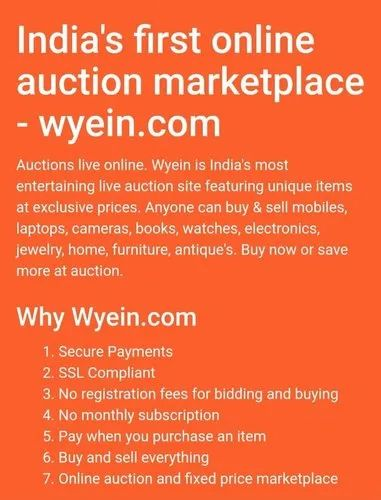 a9bc11ba85 Online Auctions Services in Bhayander West, Thane | ID: 21023748788