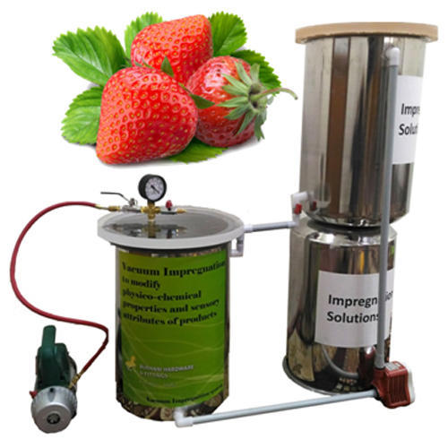 Vacuum Impregnation To Modify Physico Chemical Properties And Sensory Attributes Of Strawberry(10mm)