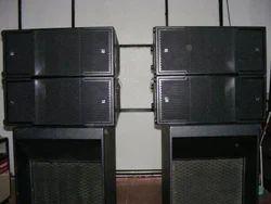 Turbosound Tfa-600hwdp 3-way Self- Powered Line Array Loudspeaker, 100  Horizontal Dispersion