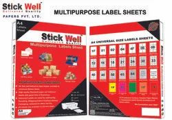 A4 Label Sheets