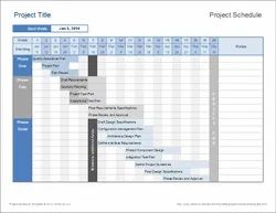 15 Days Project Planning And Scheduling Service
