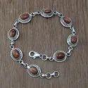 Labradorite Gemstone 925 Sterling Silver Jewelry Bracelet