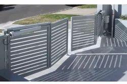 Mild Steel Motorized BI Folding Gate