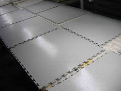 White Plastic Flooring Tiles