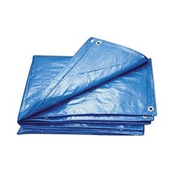 HDPE Blue Waterproof Tarpaulin, For Agriculture, Packaging Type: Roll