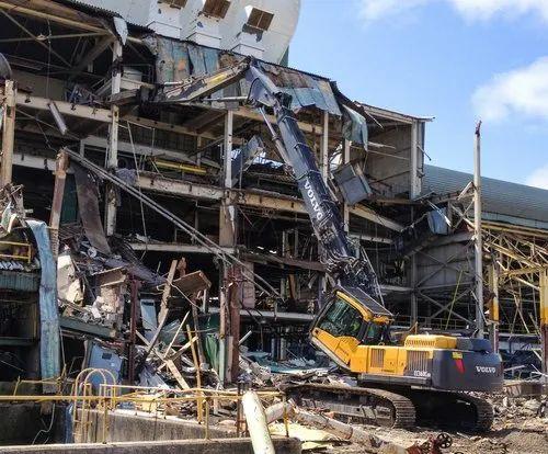 Offline On Site Industrial Demolition Services, | ID: 21772148297