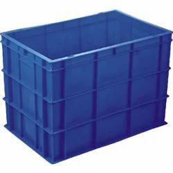 Solid Industrial Plastic Crates